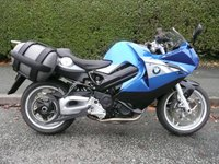 USED 2012 12 BMW F SERIES  F 800 ST Touring Full Service History, Low Seat, ABS, 12 month MOT