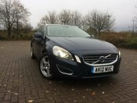 2012 VOLVO V60 2.4 D5 SE LUX 5d AUTO 212 BHP £10995.00