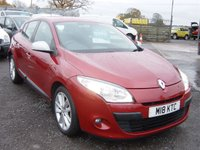 2010 RENAULT MEGANE 1.5 I-MUSIC DCI 5d 106 BHP ONLY 18000 MILES £5495.00
