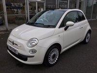 2013 FIAT 500 1.2 LOUNGE 3 DOOR £5699.00