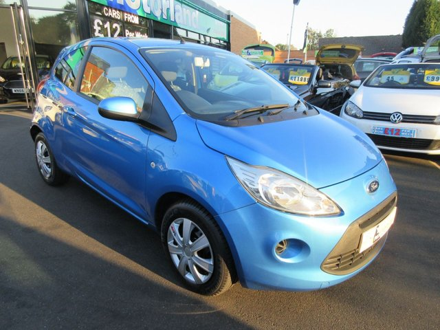 USED 2012 62 FORD KA 1.2 EDGE 3d 69 BHP **FULL SERVICE HISTORY..JUST ARRIVED..BUY NOW PAY LATER FINANCE AVAILABLE..