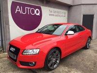 2008 AUDI A5 3.0 TDI QUATTRO SPORT 3d 237 BHP £8995.00