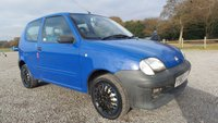 2001 FIAT SEICENTO 1.1 S 3d 54 BHP £500.00