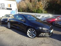 USED 2012 12 VOLKSWAGEN SCIROCCO 2.0 GT TDI 2d 170 BHP [SAT NAV] AUTO NATIONALLY PRICE CHECKED DAILY