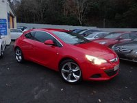 USED 2013 63 VAUXHALL ASTRA 1.4 GTC SRI S/S 3d 138 BHP NATIONALLY PRICE CHECKED DAILY