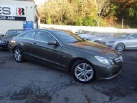 USED 2010 10 MERCEDES-BENZ E CLASS 2.1 E250 CDI BLUEEFFICIENCY SE 2d AUTO 204 BHP NATIONALLY PRICE CHECKED DAILY