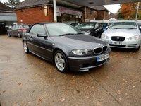 2006 BMW 3 SERIES 2.0 318CI M SPORT 2d 148 BHP £3990.00