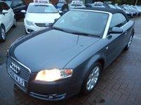 2006 AUDI A4 1.8 T 2d 161 BHP £4590.00