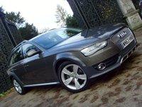 2013 AUDI A4 ALLROAD 3.0 ALLROAD TDI QUATTRO 5d AUTO 241 BHP £22999.00