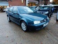 2003 VOLKSWAGEN GOLF 2.3 V5 5d AUTO 168 BHP £1750.00