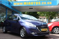 USED 2014 PEUGEOT 208 1.0 ACTIVE 5dr 68 BHP BLUETOOTH STREAMING  AUX-IN + USB Connectivity