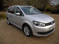 USED 2012 62 VOLKSWAGEN TOURAN 1.6 TDI SE 5dr 7 Seats, Alloy Wheels