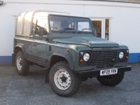 2009 LAND ROVER DEFENDER 2.4 90 SWB 1d 121 BHP PICK UP £16595.00