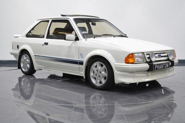 1985 FORD ESCORT 1.6 RS TURBO 3d 132 BHP
