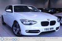 2012 BMW 1 SERIES 116D 2.0 115 BHP SPORT 5d £10985.00