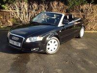 2006 AUDI A4 1.8 T 2d 161 BHP £4000.00