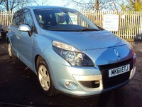 2011 RENAULT SCENIC 1.5 DYNAMIQUE TOMTOM DCI 5d 110BHP £5290.00