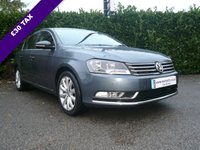 USED 2012 62 VOLKSWAGEN PASSAT 2.0 HIGHLINE TDI BLUEMOTION TECHNOLOGY START/STOP 4d 140 BHP