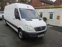 2012 MERCEDES-BENZ SPRINTER 2.1 313 CDI, LONG WHEEL BASE, 130 BHP, SERVICE HISTORY, CRUISE, BLUETOOTH, ELECTRIC WINDOWS, EXCELLENT CONDITION  £8500.00