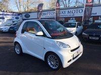 2012 SMART FORTWO 0.8 PASSION CDI 2d AUTO 54 BHP £3995.00