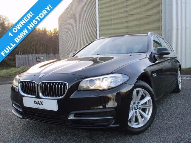 2013 63 BMW 5 SERIES 2.0 520D SE TOURING 5d AUTO 181 BHP