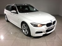 USED 2013 63 BMW 3 SERIES 2.0 320D M SPORT TOURING 5d AUTO 181 BHP