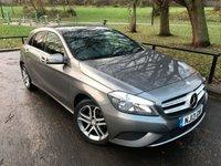 2013 MERCEDES-BENZ A CLASS 1.8 A180 CDI BLUEEFFICIENCY SPORT 5d AUTO 109 BHP £12480.00