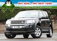 2011 LAND ROVER FREELANDER 2.2 TD4 GS 5d 150 BHP £12495.00
