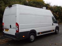 USED 2011 61 PEUGEOT BOXER 3.0 HDI 160BHP 440 L4H3 LWB EXTRA HIGH ROOF FRIDGE/CHILLER/FREZZER VAN +SIDE SLAB DOOR+160 BHP+ 1 OWNER+ FREEZER
