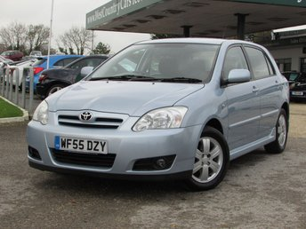 2005 TOYOTA COROLLA 1.6 T3 COLOUR COLLECTION VVT-I 5d 109 BHP £SOLD