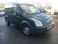 2007 FORD TRANSIT CONNECT T220 90PS LX SWB  £2895.00