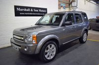 2008 LAND ROVER DISCOVERY 3 2.7 3 TDV6 HSE 5d AUTO 188 BHP £14000.00