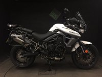 2016 TRIUMPH TIGER 800 XRT. Sep 16. 1014 MILES. FULLY LOADED TIGER. SERVICED.  £9250.00
