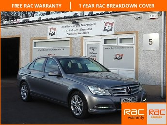 2014 MERCEDES-BENZ C CLASS 1.6 C180 BLUEEFFICIENCY EXECUTIVE SE 4d AUTO 154 BHP £14000.00