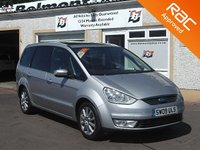 USED 2009 09 FORD GALAXY 2.0 GHIA TDCI 5d 143 BHP Full Leather, 7 Seater ,Bluetooth ,Parking Sensors