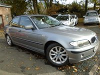 USED 2004 54 BMW 3 SERIES 2.0 320D ES 4d 148 BHP NEW ON MOT SALE+GREAT VALUE