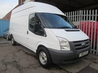 2011 FORD TRANSIT 350 LWB High roof 100 PS RWD *6 SPEED* £7495.00