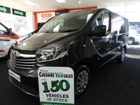 2015 VAUXHALL VIVARO 1.6 L1H1 CDTI P/V SPORTIVE 120 BHP NEW SHAPE £10495.00