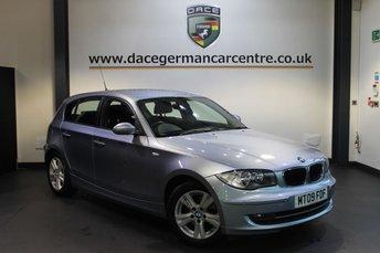 2009 BMW 1 SERIES 2.0 118D SE 5DR 141 BHP £6470.00