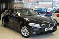 USED 2011 60 BMW 5 SERIES 3.0 525D SE 4d AUTO 202 BHP FULL BMW SPECIALIST SERVICE HISTORY + OYSTER LEATHER SEATS+PRO NAVIGATION+XENONS+PARKING SENSORS+BLUETOOTH
