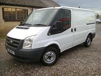 2011 FORD TRANSIT T260 85PS SWB LOWROOF £4995.00