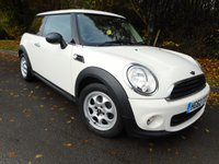 2012 MINI HATCH ONE 1.6 ONE 3d 98 BHP £7250.00