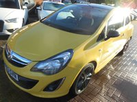 2014 VAUXHALL CORSA 1.2 LIMITED EDITION 3d 83 BHP £6490.00