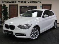 2013 BMW 1 SERIES 1.6 116I SPORT 3d 135 BHP £SOLD