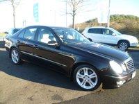 2006 MERCEDES-BENZ E CLASS 3.0 E280 CDI AVANTGARDE 4d 187 BHP £3990.00