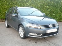 2013 VOLKSWAGEN PASSAT 2.0 HIGHLINE TDI BM TECH ESTATE START/STOP 140 BHP £11250.00