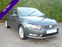 2013 VOLKSWAGEN PASSAT 2.0 HIGHLINE TDI BM TECH ESTATE START/STOP 140 BHP £10450.00