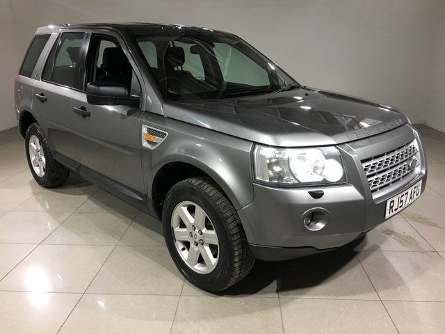 View our 2007 57 LAND ROVER FREELANDER 2.2 TD4 GS 5d AUTO 159 BHP