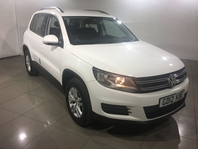 View our 2012 12 VOLKSWAGEN TIGUAN 2.0 S TDI BLUEMOTION TECHNOLOGY 4MOTION 5d 138 BHP