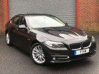 2015 BMW 5 SERIES 2.0 520D LUXURY 4d AUTO 188 BHP £19995.00